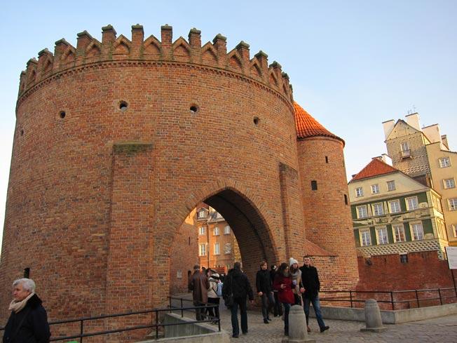 remparts varsovie
