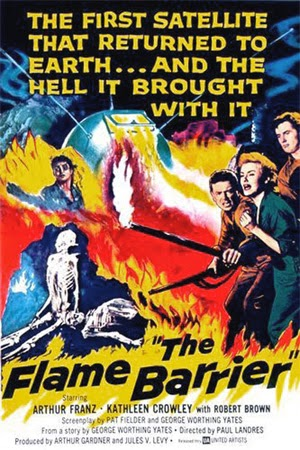 Poster - The Flame Barrier (1958)