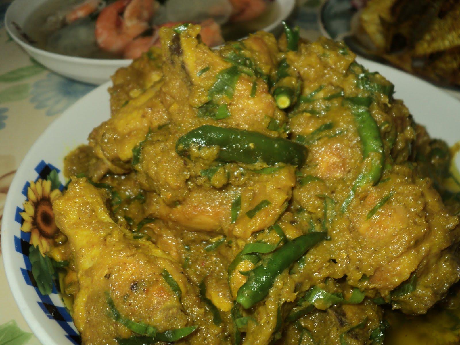 resepi rendang ayam negeri sembilan  sedap lamaran Resepi Rendang Ayam Tanpa Kerisik Enak dan Mudah