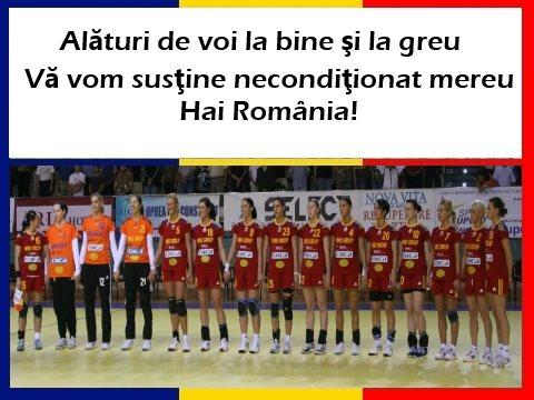 Romania - Muntenegru la CE Handbal F