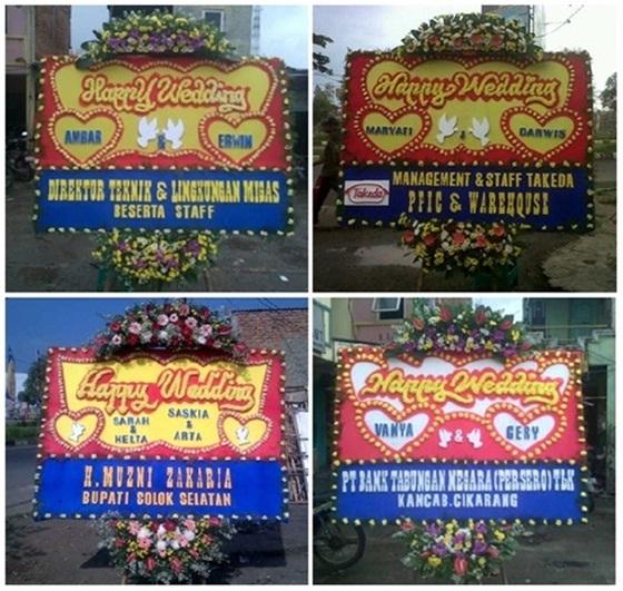Toko Bunga Papan Online Jakarta