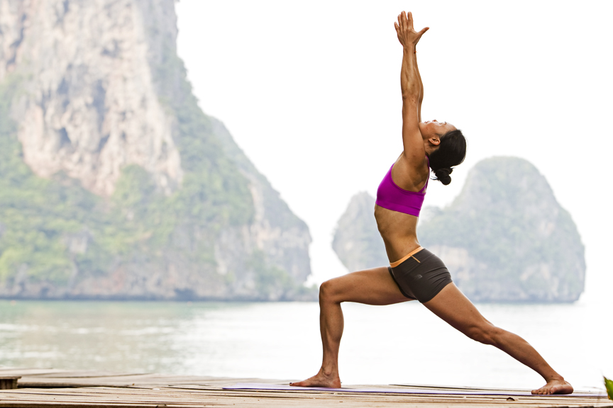Virabhadrasana I  | Health and Fitness Bible
