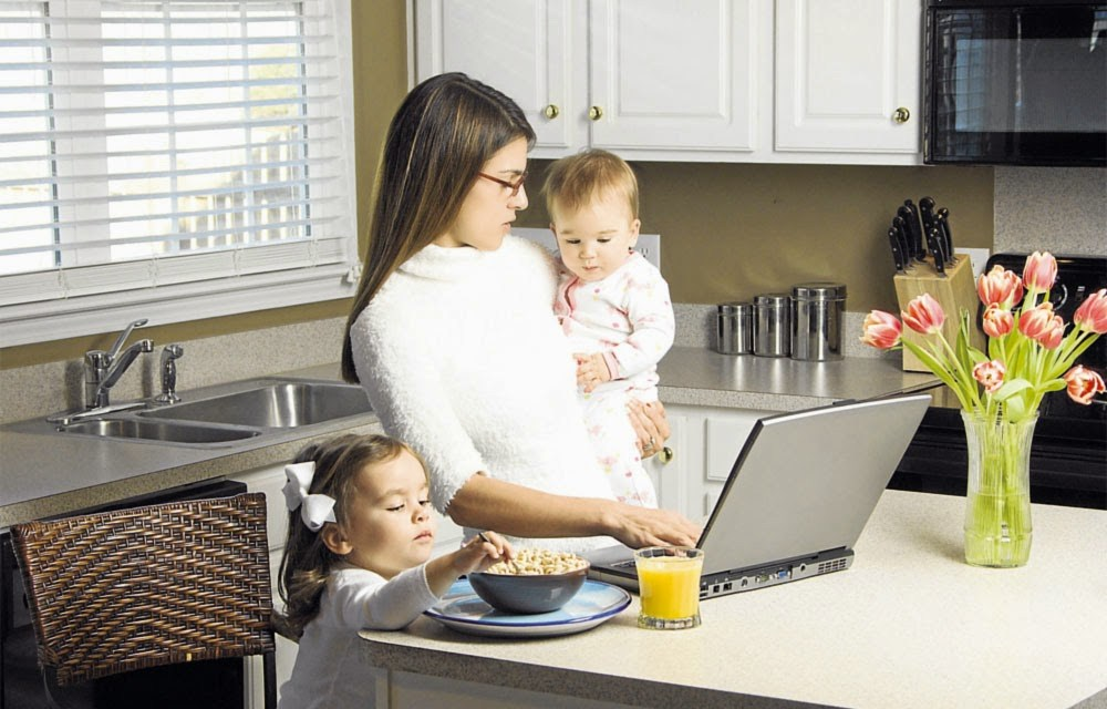 đàn bà có chồng phải bận bịu nhiều thứ cho gia đình