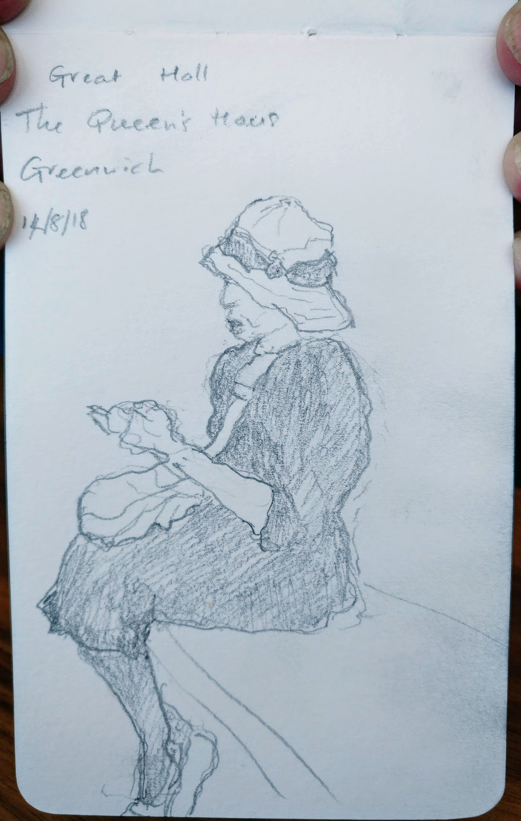margaret-cooter: Drawing Tuesday - Maritime Museum