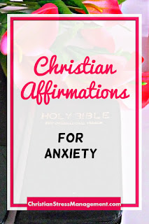 Christian affirmations for anxiety