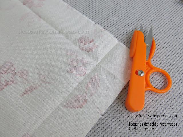 esquinas fáciles de coser