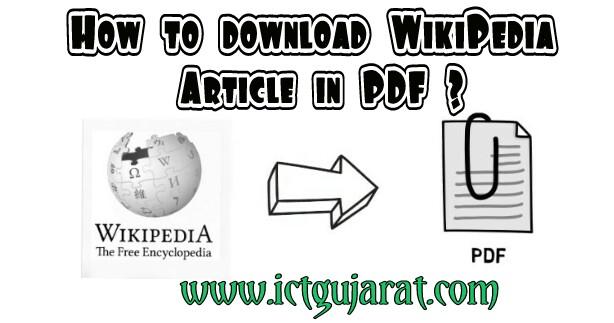 Wikipedia pdf all