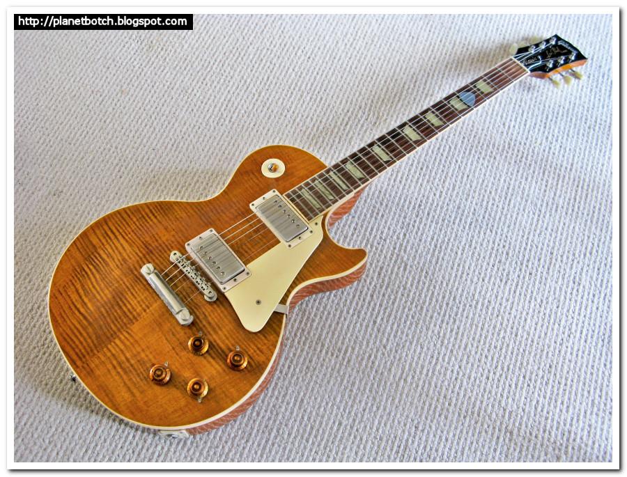 1993 Gibson Les Paul Classic Flametop Amber
