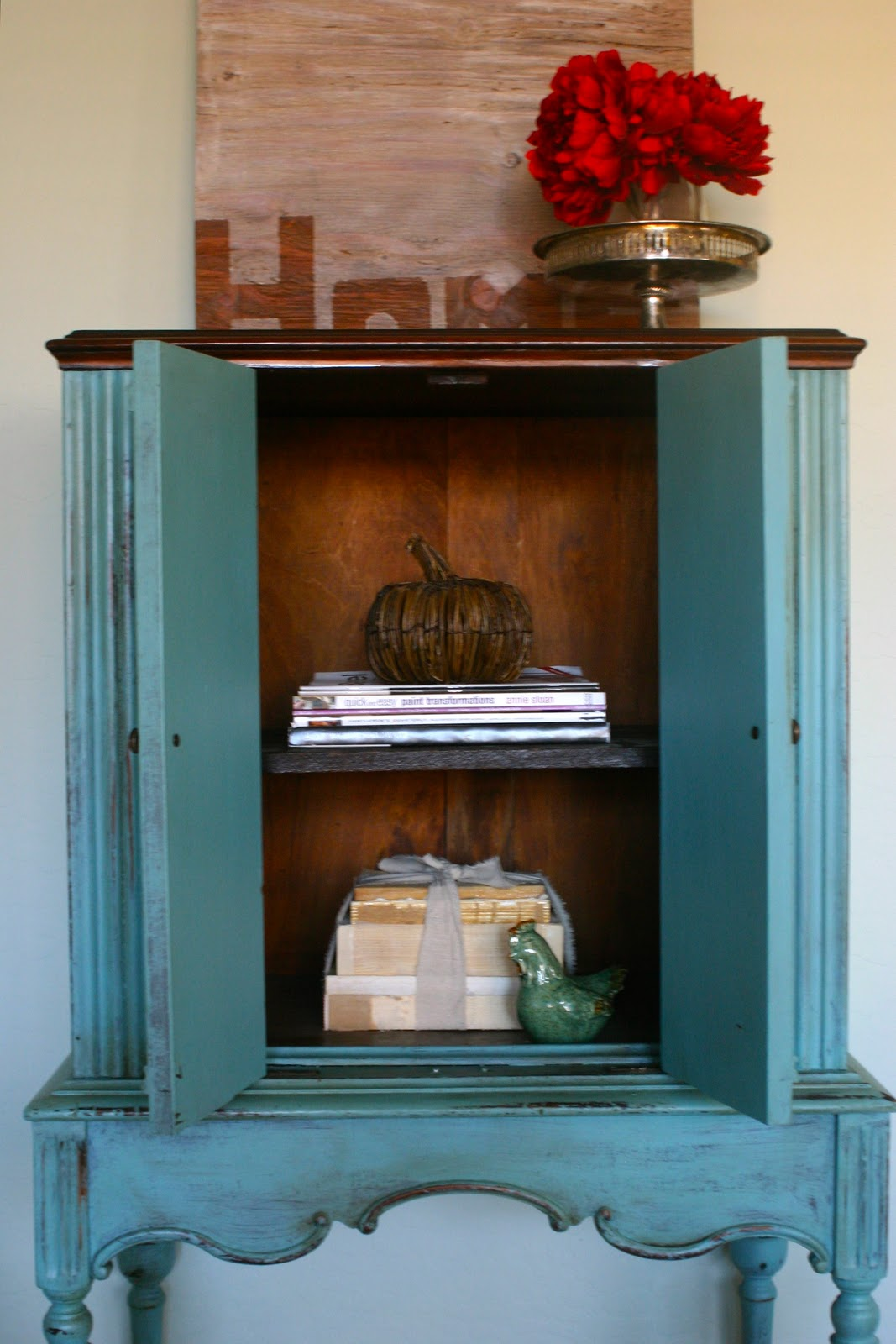 Anne The Story Of An Antique Radio Cabinet Because I