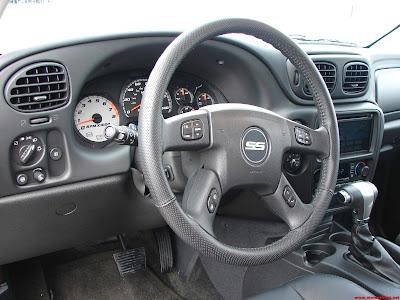 Desain Interior Opel Blazer