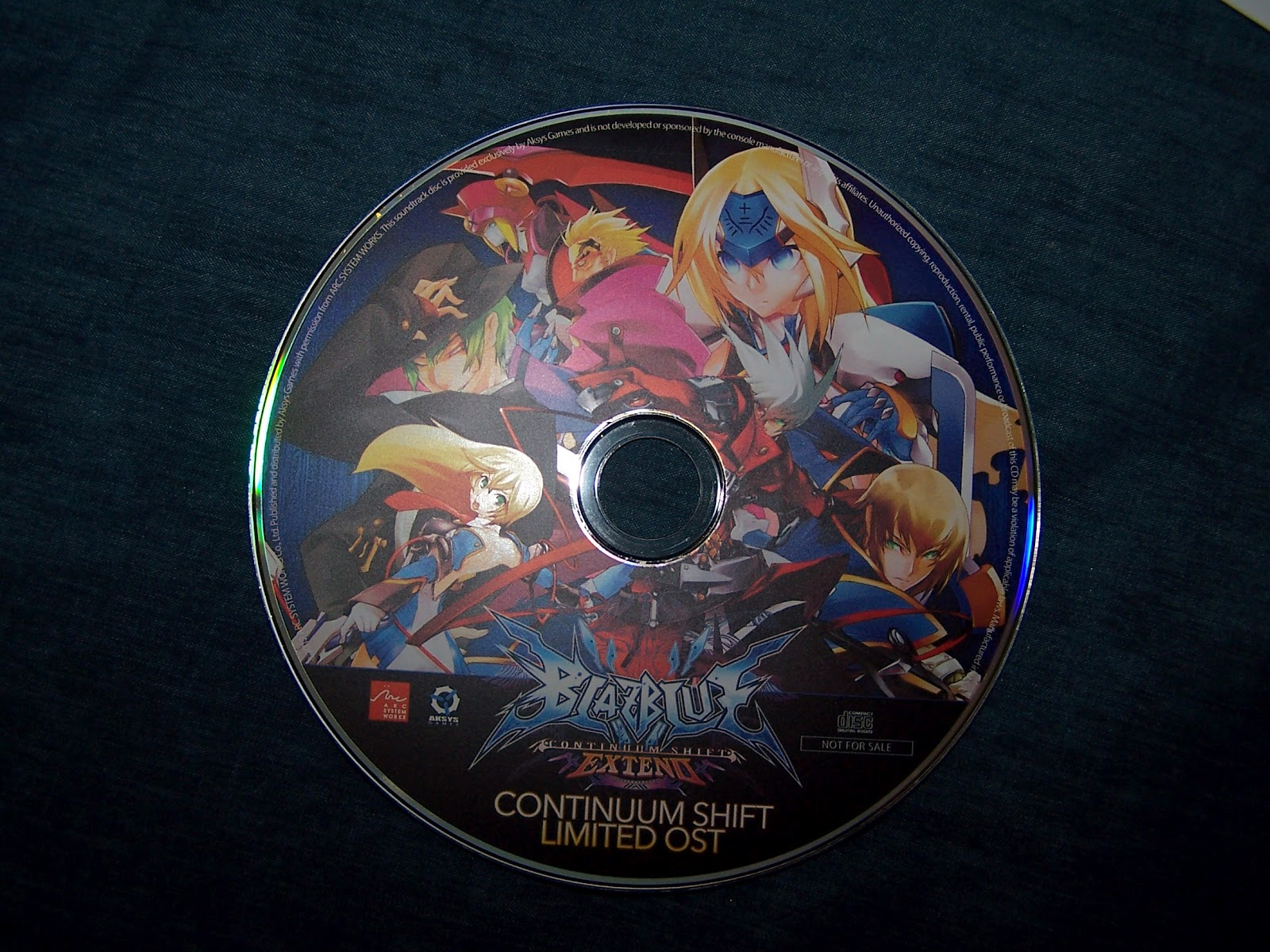 Short Wave Radio: BlazBlue Continuum Shift Extend Limited
