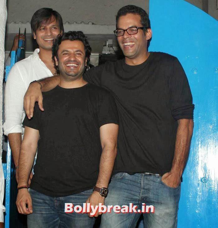 Vivek Oberoi, Vikas Bahl, Vikramaditya Motwane, Vikas Bahl's Birthday Bash Photo Gallery