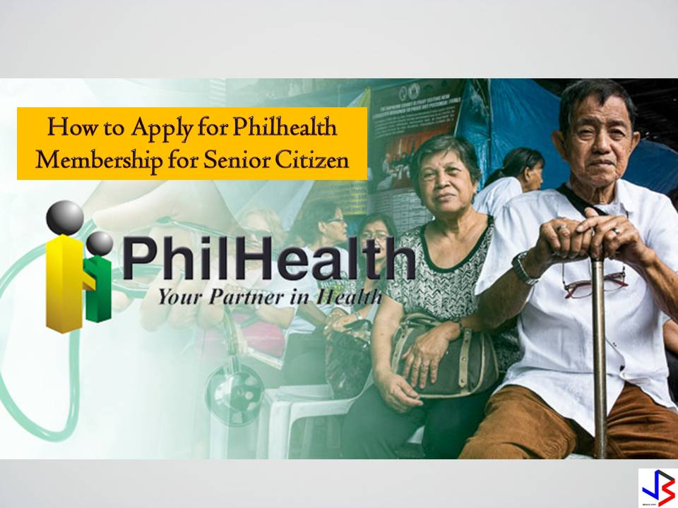According to the REPUBLIC ACT NO. 10645: all senior citizen shall be entitled to PhilHealth benefits. All senior citizens can avail this PhilHealth benefit without the need to pay for monthly contribution. The contribution for senior citizens shall be sourced from the proceeds of Republic Act No. 10351, commonly known as the Sin Tax Law. Who are the senior citizens that can avail FREE PHILHEALTH ? Filipino citizens who are residents of the Philippines, aged sixty (60) years or above and are not currently covered by any membership category of PhilHealth; Qualified dependents of senior citizen members who are also senior citizen themselves; and Qualified dependents of members belonging to other membership categories, with or without coverage who are senior citizens themselves. However, Senior Citizens who are gainfully employed or who remain to have regular sources of income shall continue to pay their premium contributions to PhilHealth under the applicable membership categories. How to apply for senior citizen PhilHealth membership? As senior citizen, you have two options to enroll for PhilHealth, they can enroll through municipal's Senior Citizens Affair (OSCA) office or through any PhilHealth office. 1. Through Office for the Senior Citizens Affairs (OSCA) Fill out two (2) copies of the PhilHealth Member Registration Form (PMRF); DOWNLOAD FORM HERE Submit duly accomplished PMRF to the OSCA in the city or municipality where the elderly resides Await Member Data Record and Identification card issued by PhilHealth through OSCA 2. Through PhilHealth Local Health Insurance Office (LHIO) Fill out two (2) copies of the PhilHealth Member Registration Form (PMRF); DOWNLOAD FORM HERE Attach 1 x 1 photo taken within the last six months; Present Senior Citizen's ID. Read here how to apply for Senior Citizen ID Submit duly accomplished PMRF Await Member Data Record and PhilHealth Identification Card Continue reading... How to avail PhilHealth when senior citizen is hospitalized You might also want to read: How to create PhilHealth account online How To Get MDR Record Online