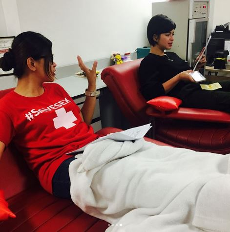 THROWBACK: Angel Locsin Celebrated The International Women's Day 2017 By Donating Blood