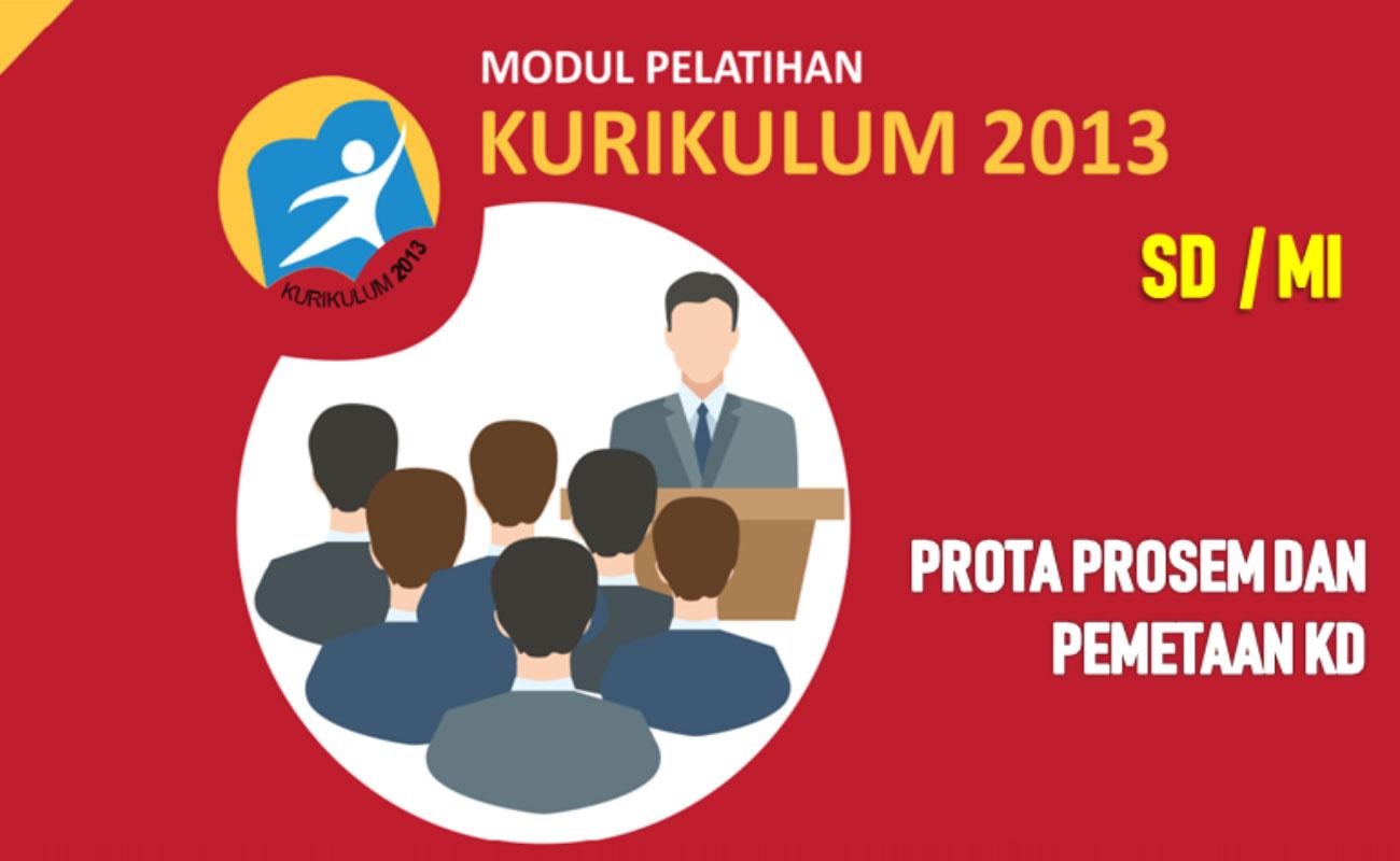 Rancangan Prota Prosem Dan Pemetaan KD SD MI Kurikulum 2013