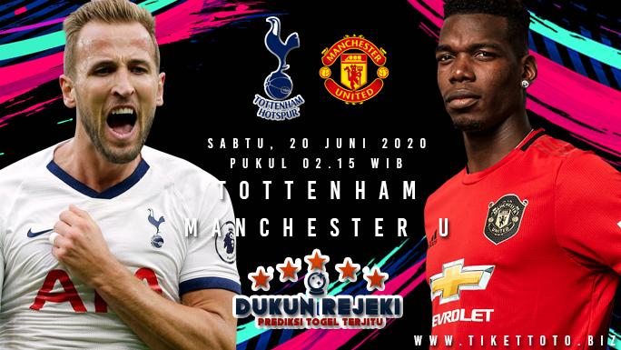 Prediksi Bola Tottenham Hotspur vs Manchester United Sabtu 20 Juni 2020