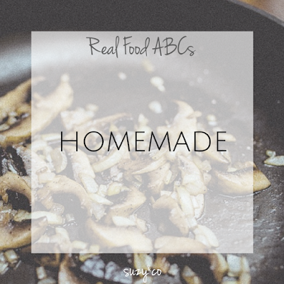 real food abcs - homemade