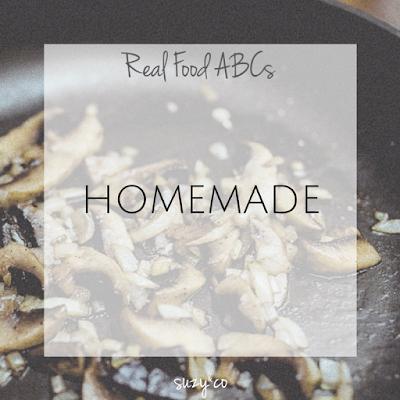 real food abcs - homemade