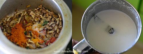Vazhaipoo kootu recipe
