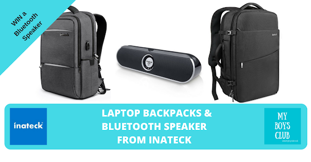 Laptop Backpacks & Bluetooth Speaker from Inateck Review