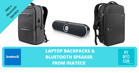 Backpacks & Bluetooth Speaker from Inateck Review - (AD)