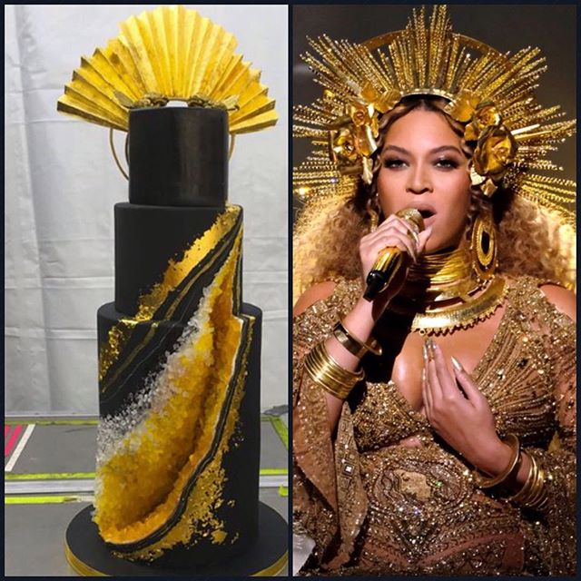 Marvelous Check Out The Expensive Birthday Cake Jay Z Made For His Queen Personalised Birthday Cards Cominlily Jamesorg