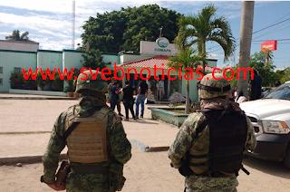 Asaltan la Comisión Municipal de Agua Potable en Altamira Tamaulipas