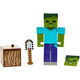 Minecraft Zombie Survival Mode Figure