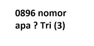 0896 nomor apa ?