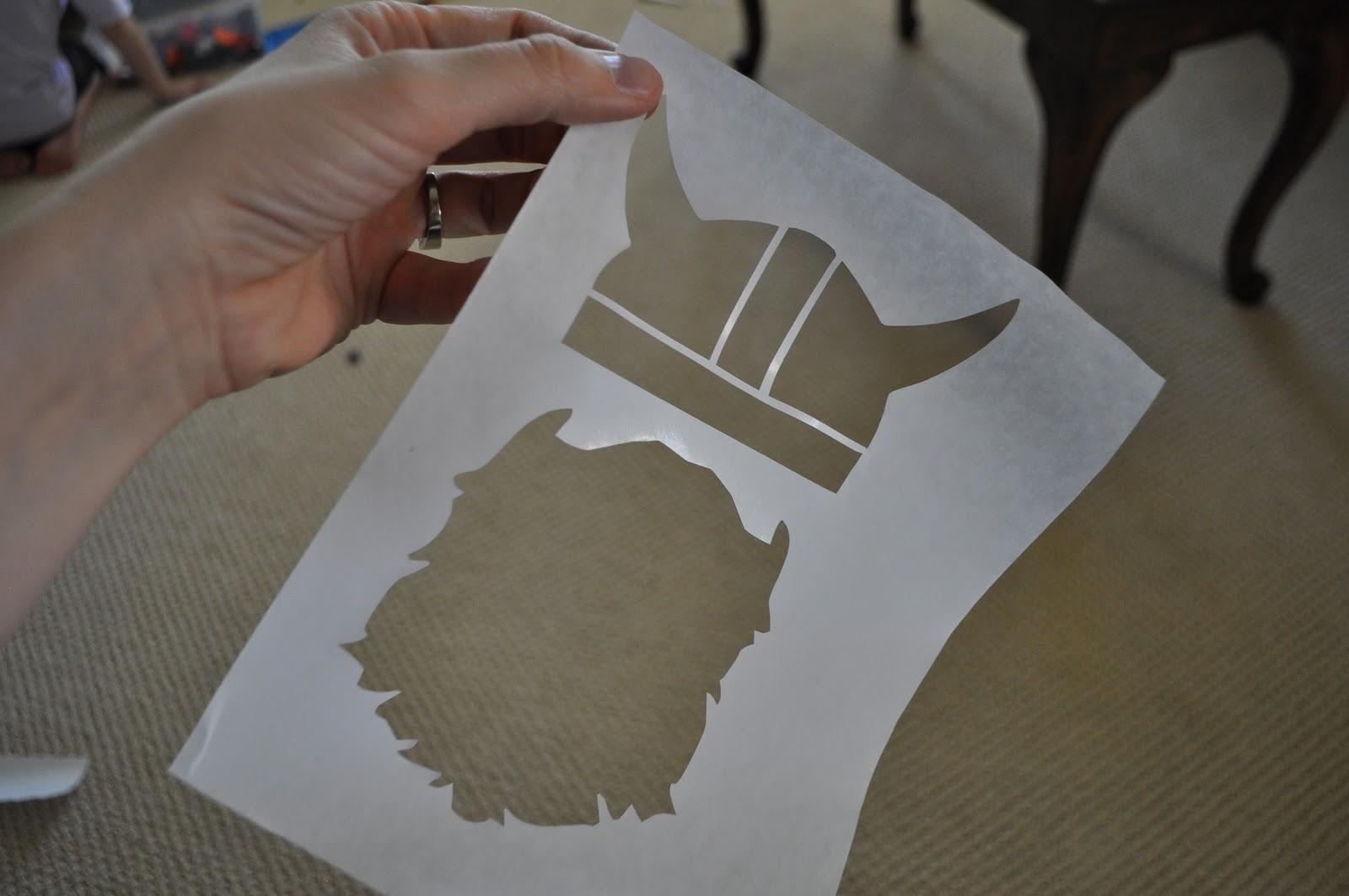 I Am Momma - Hear Me Roar: Cutting Freezer Paper with a