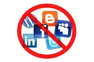 Não jogue nas redes sociais