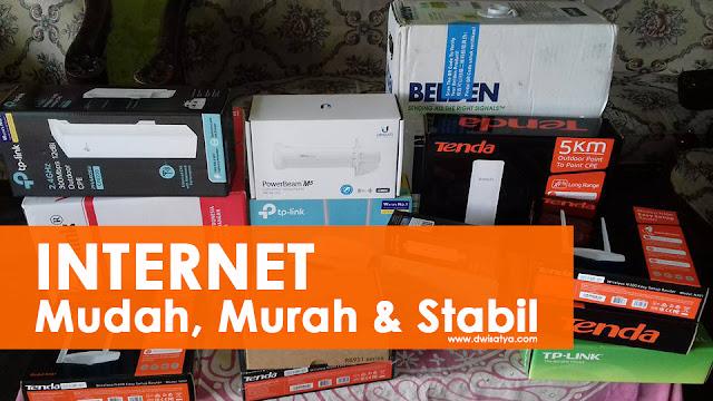 RajaInternet Lumajang, solusi mudah internet untuk masyarakat Desa