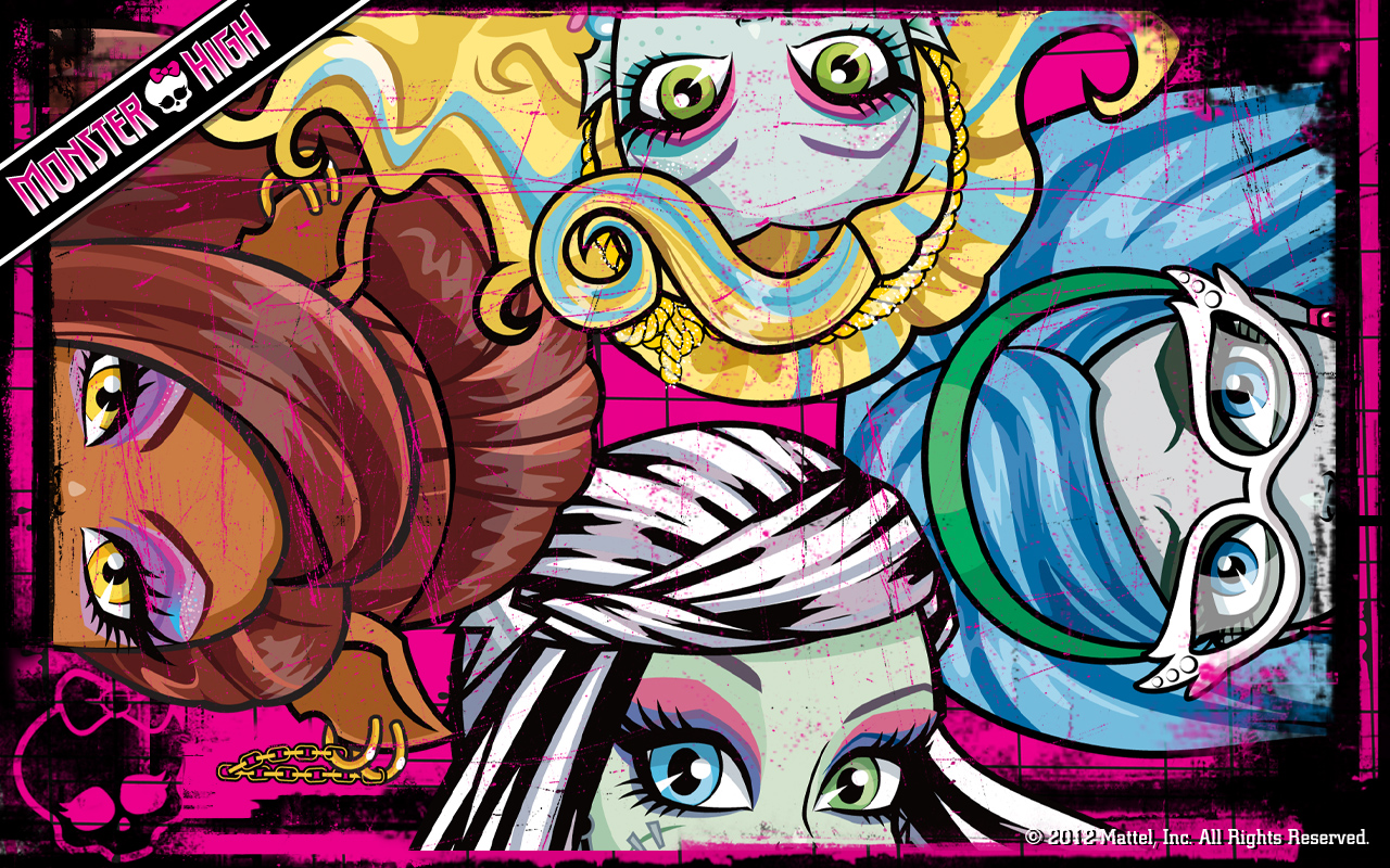 All monster high dolls place - wallpapers, accesories, story: Best Monster high wallpapers