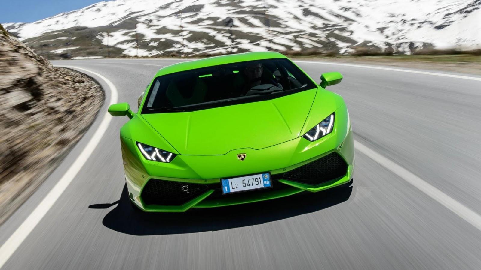 Lamborghini Huracan - 3,2 giây