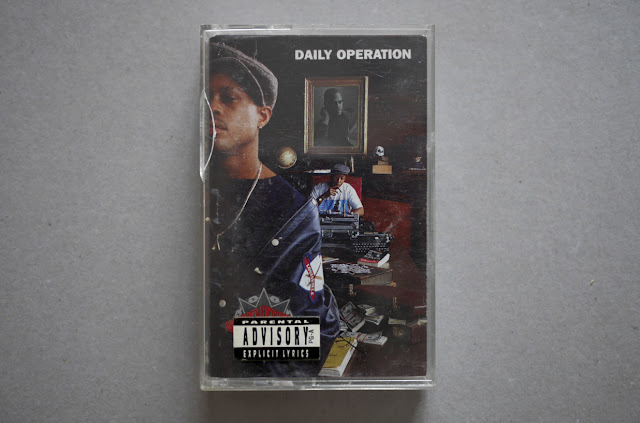 Gang Starr Daily Operation Cassette DJ Premier Guru