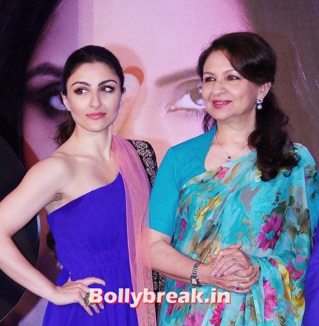 Soha Ali Khan and Sharmila Tagore, Soha Ali Khan at Clinic Plus Plan India Campaign Launch