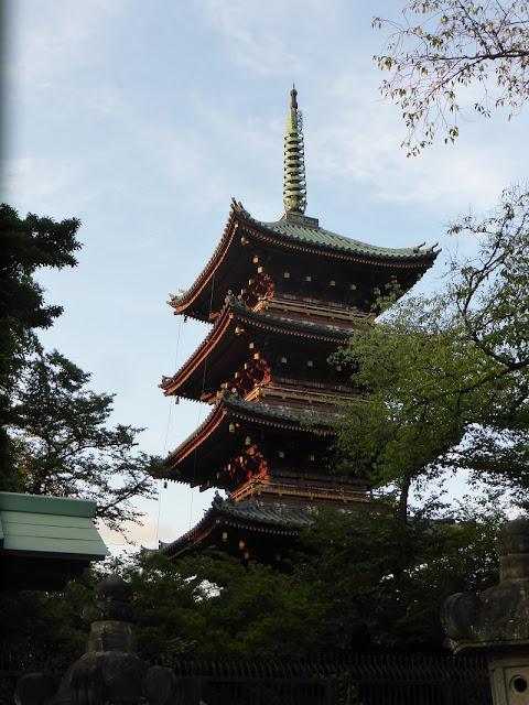 Parque Ueno, pagoda