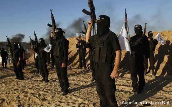 Militantes del Estado Islámico en Egipto