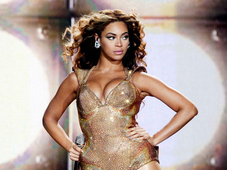 Singer Beyonce Hot Stills