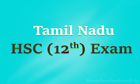 tamil nadu 12th time table 2018 - tn hsc plus two exam 2018