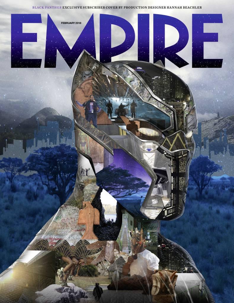 Черная Пантера на обложке Empire