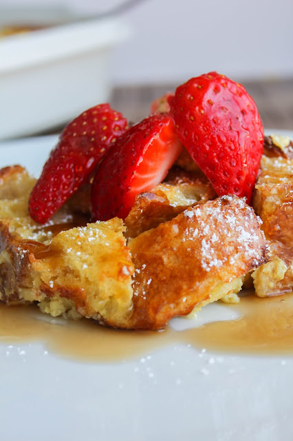 Overnight French Toast Bake | The Chef Next Door