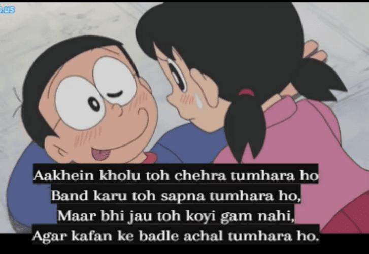 Nobita Shizuka Love Wallpapers Hd 100 Romantic Sad Images For Dp