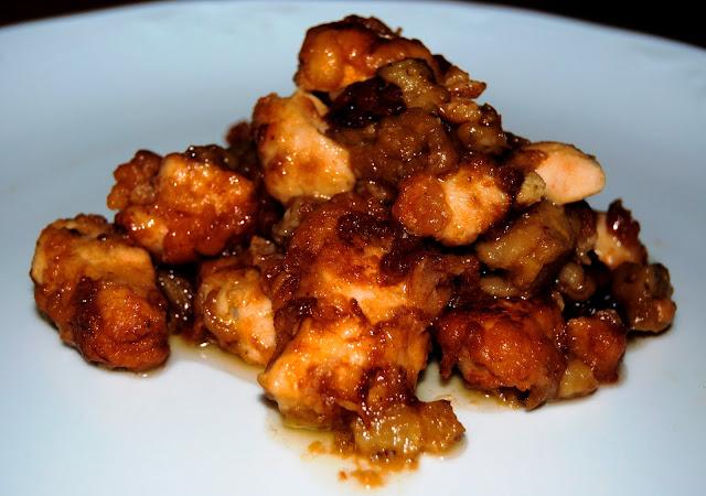 Pollo con Berenjenas (Quie zi ji Kuái) Receta
