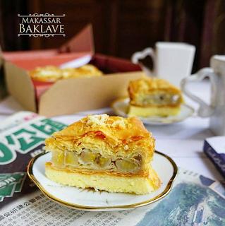 Varian Rasa dan Harga Kue Makassar Baklave Terbaru by Irfan Hakim