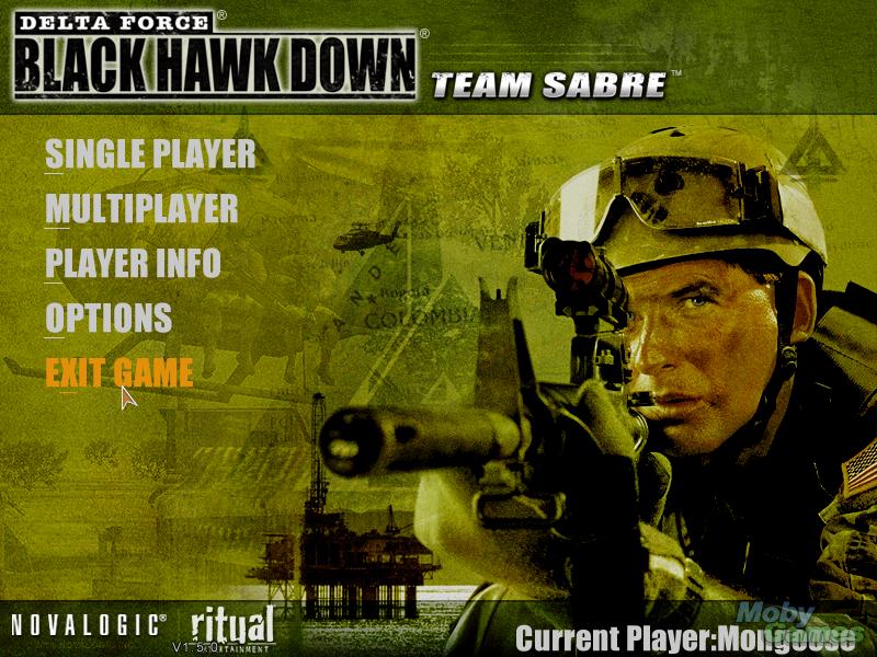 Delta Force Black Hawk Down + Team Sabre V1.5.0.5