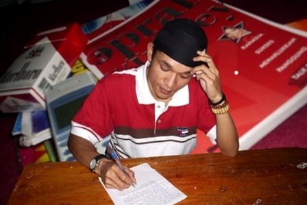 belajar menulis pada william forrester