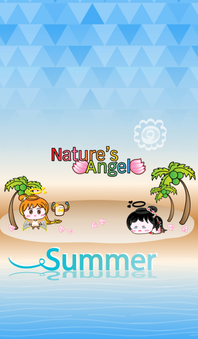 Nature's Angel - Summer Beach