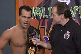 WCW HALLOWEEN HAVOC 96 REVIEW: Dean Malenko agreed to Give Mysterio a rematch if he wanted one