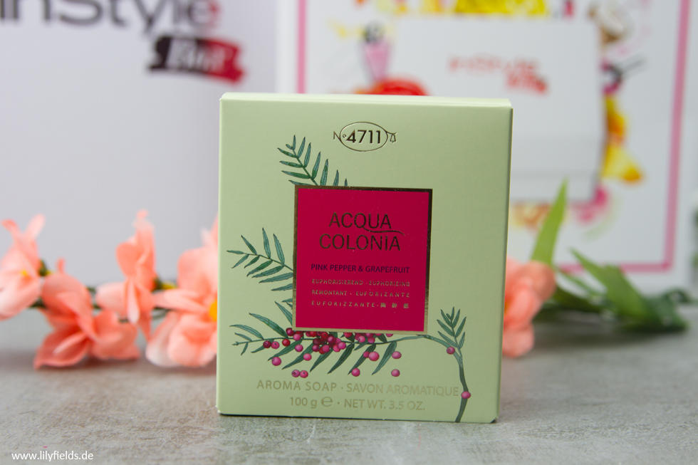 "4711 Acqua Colonia - Aroma Soap ""Pink Pepper & Grapefruit"""